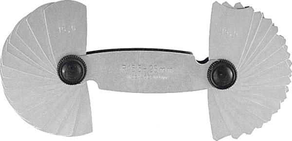 Bán kính đo 1-7 mm