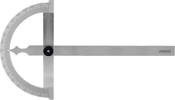 Thước đo góc có vòng mở tốt nghiệp 150X200 mm