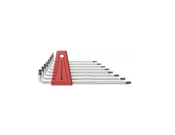 Bộ Hoa Thị PB Swiss Tools Knurled 8 Cây Torx® 6-25