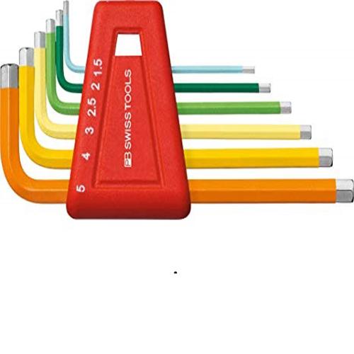 Bộ lục giác màu PB Swiss Tools 626050 6