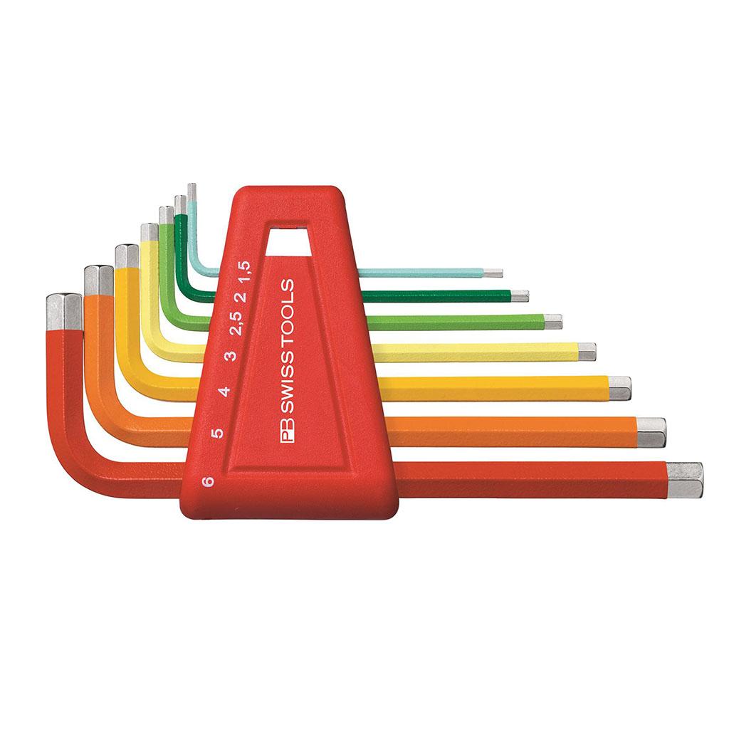 Bộ lục giác màu PB Swiss Tools 626050 9