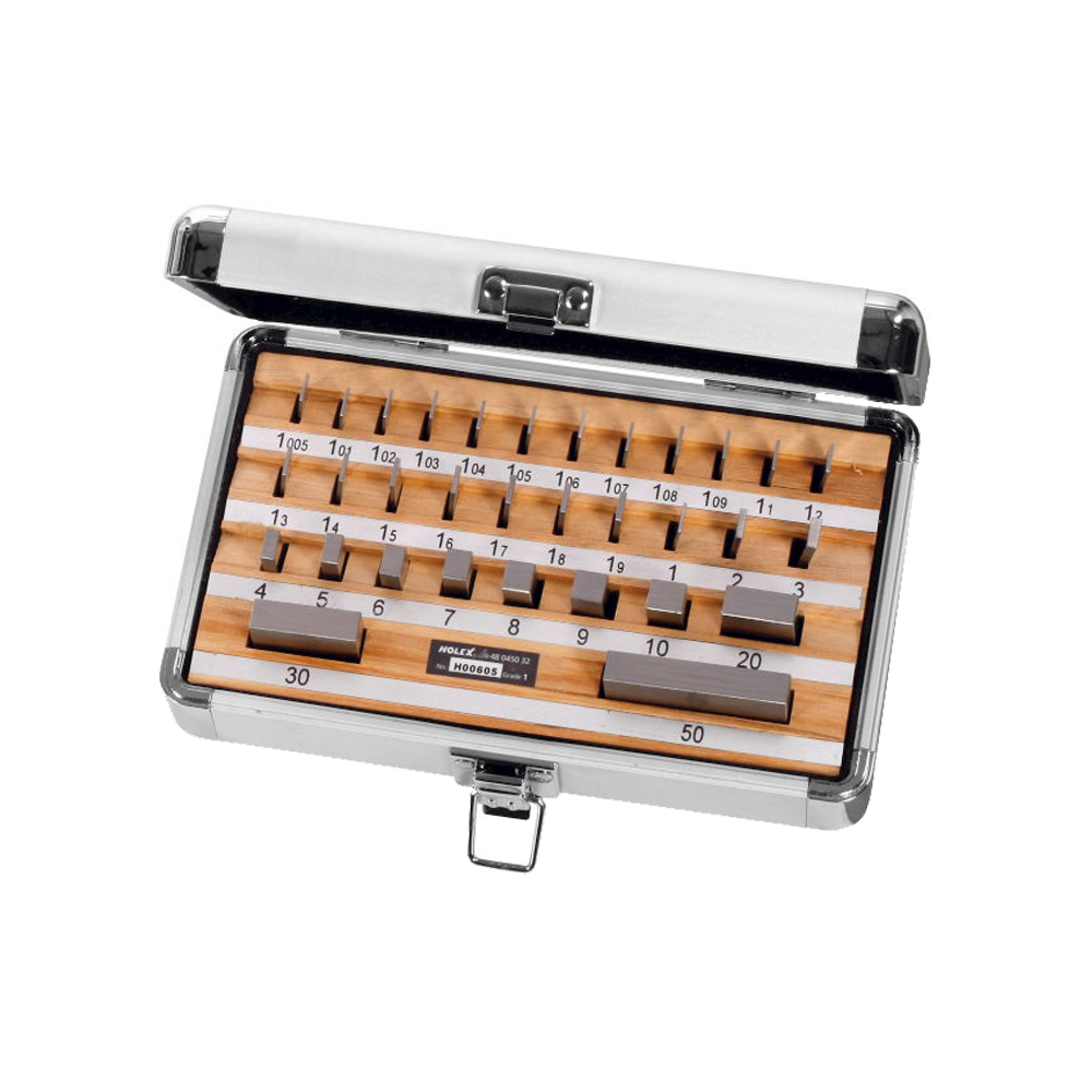 Gauge block set Tolerance class 1 32