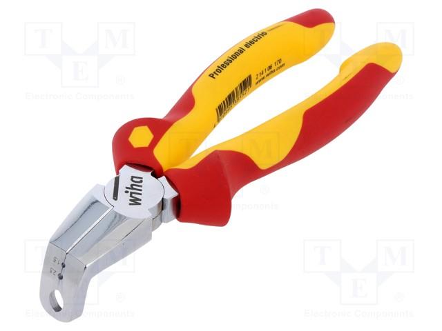 Kìm bấm điện lắp đặt chuyên nghiệp Wiha 38552