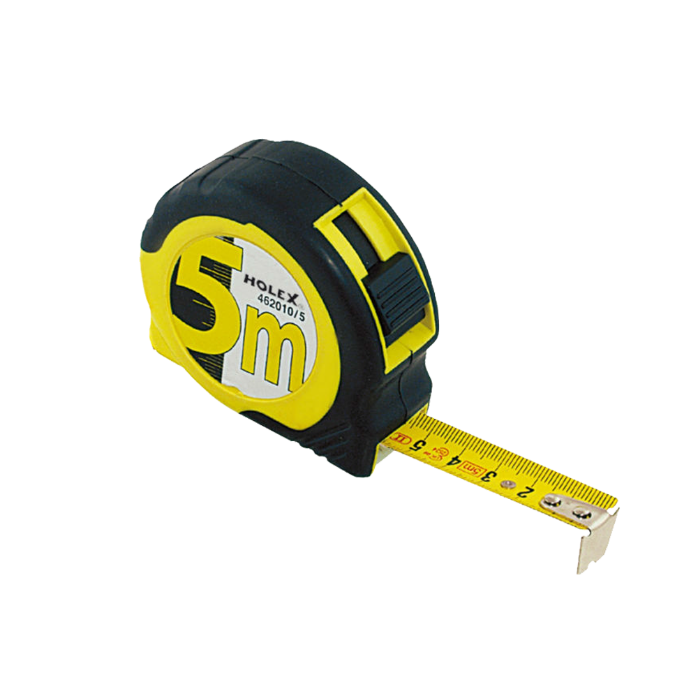 Locking tape measure 5 m