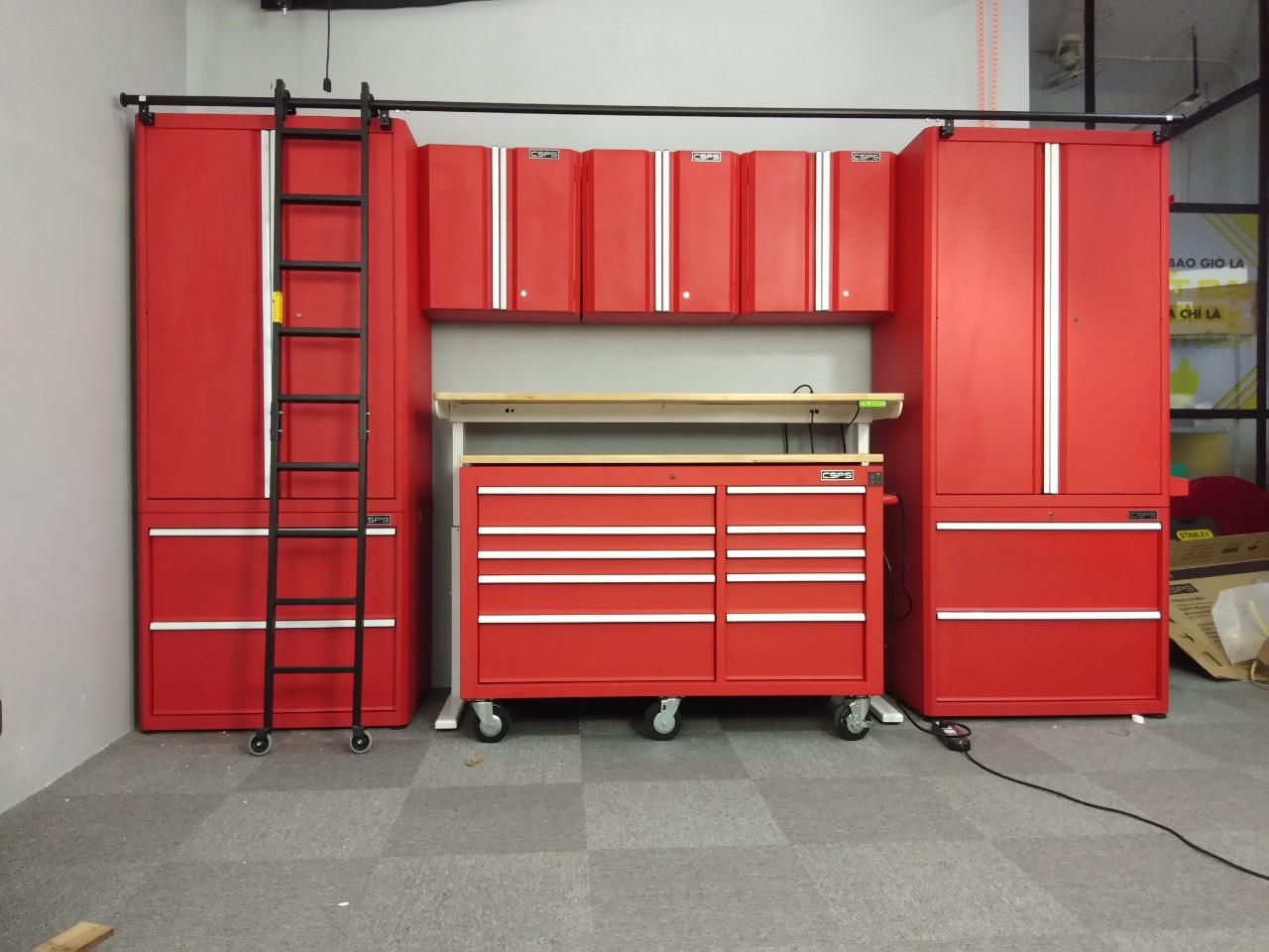 Nhà xưởng chuyên nghiệp và cách tân hơn với tủ đồ nghề CSPS