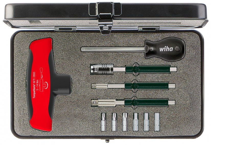 Torque screwdriver with T-handle set TorqueVario®-S T