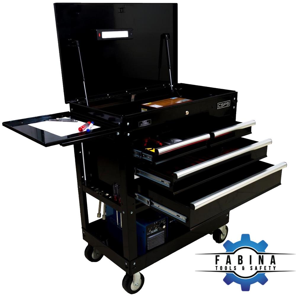 Tủ đồ nghề 4 ngăn kéo 2 khay chứa đa năng CSPS