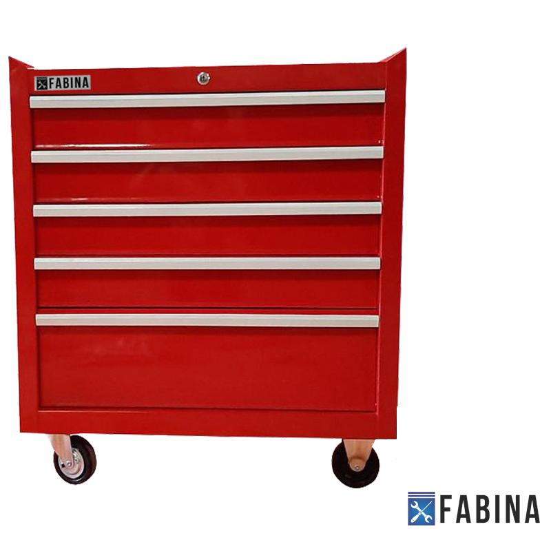 Tủ đồ nghề 5 ngăn chuyên nghiệp màu đỏ FBNC
