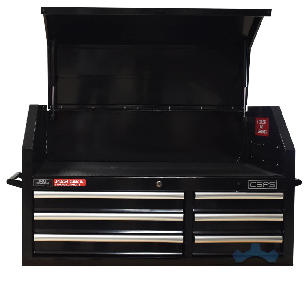 Tủ đồ nghề 6 ngăn kéo 1 ngăn nắp cố định CSPS