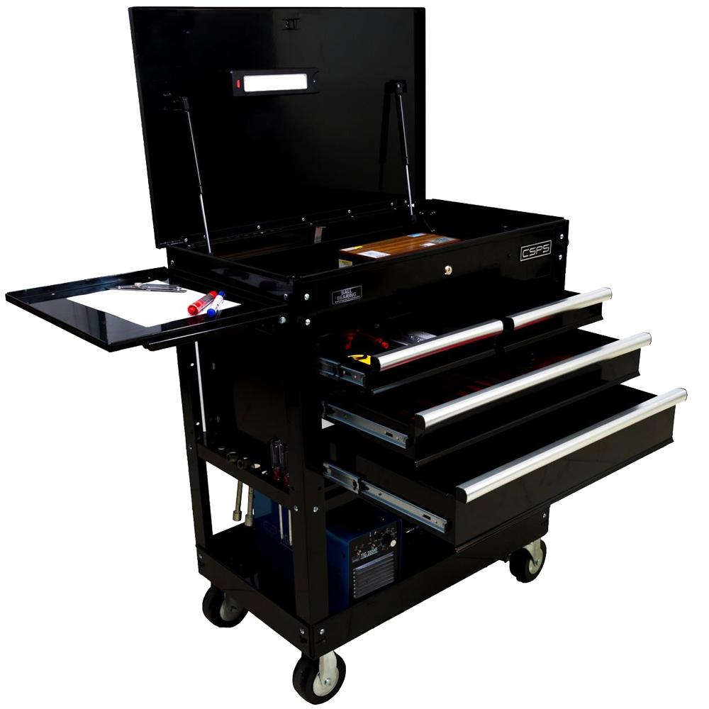 Tủ dụng cụ 4 ngăn kéo 2 khay chứa đa năng CSPS