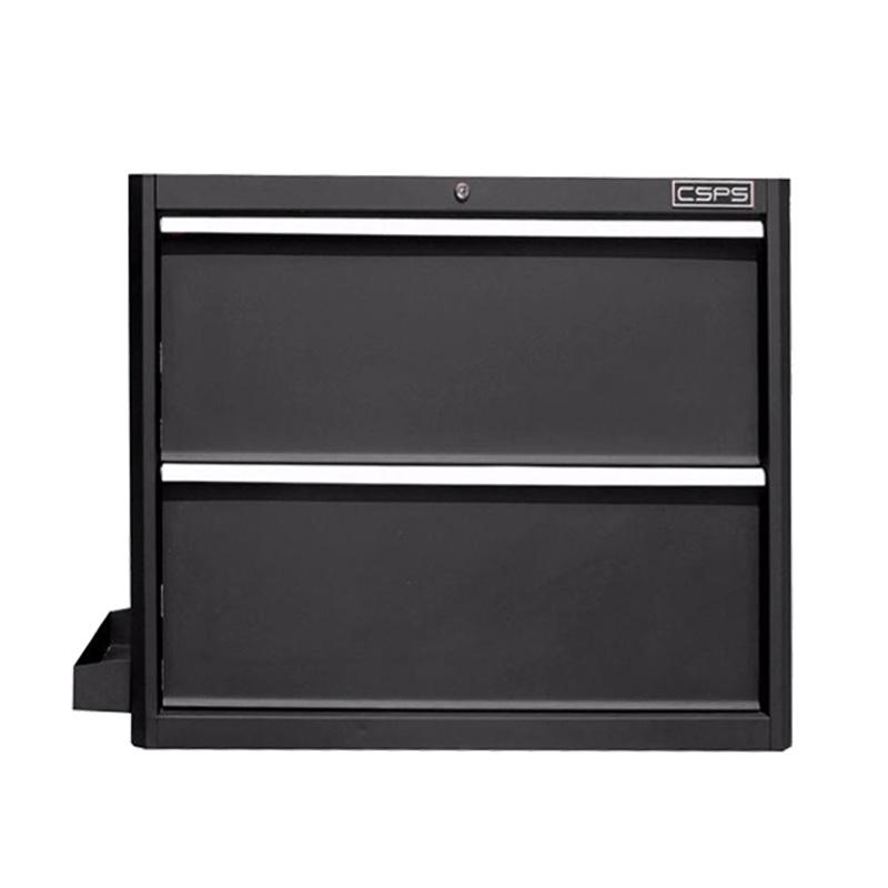 Tủ đựng dụng cụ 2 hộc kéo màu đen CSPS 91cm W x 61.5cm D x 75cm H