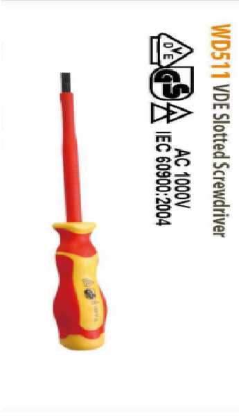 Slotted Screwdriver 5.5*125mm
